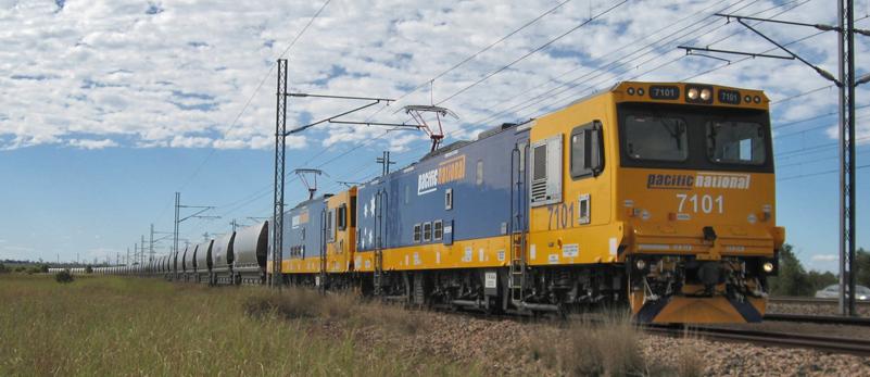 Siemens Class 7100 im Einsatz bei der australischen Pacific National (Foto: Siemens)
