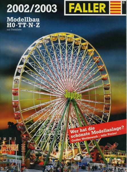 Faller-Katalog 2002 – 360 Seiten dick