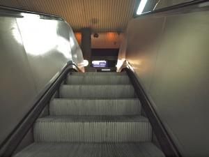 Der Weg zum Bahnsteig ist nicht weit (Foto: Weidelich)
