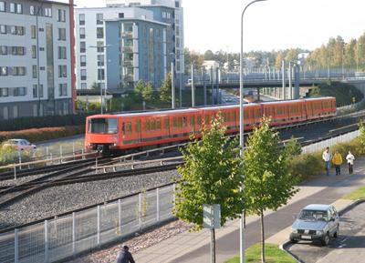 Die fahrerlose U-Bahn in Helsinki wird 2013 fertig sein  (Foto: Siemens)
