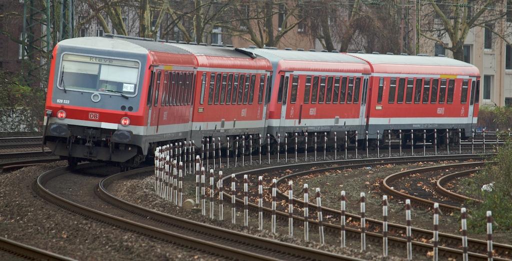 Take the last train to Kleve - heute fährt hier die Nordwestbahn  (Foto: Weidelich)