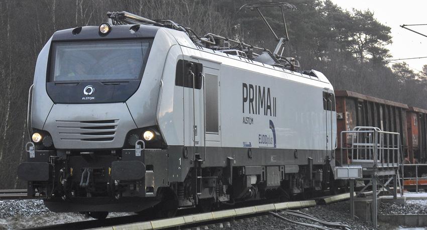Prima II im Testlauf in Wildenrath (Foto: Jürgen Lück, Alstom)