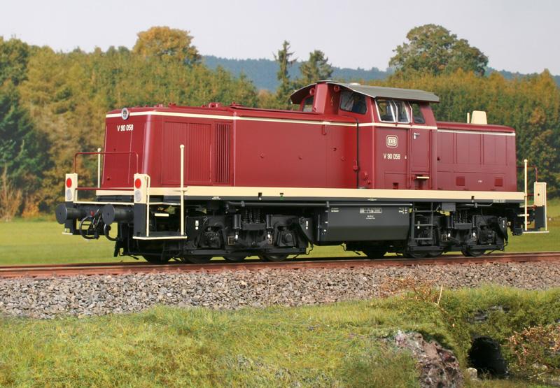 Das KM1-Modell der V90 ist ein Juwel für anspruchsvolle Modellbahner (Foto: KM1 Modellbau)